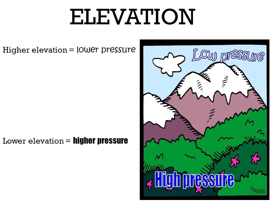 Air Pressure Ppt Video Online Download - Higher elevation