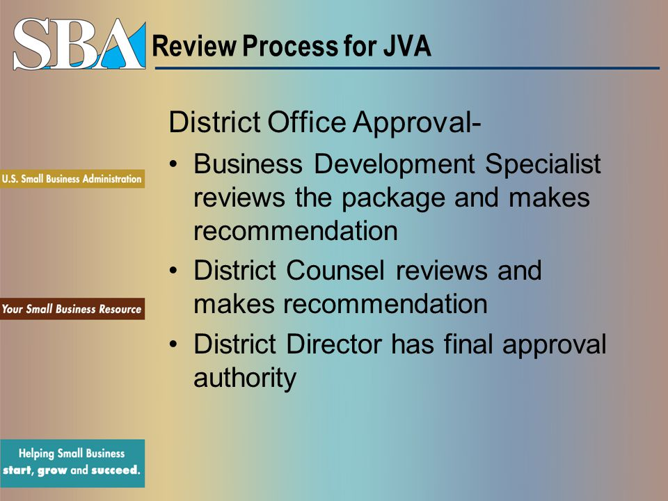 District Office Approval-