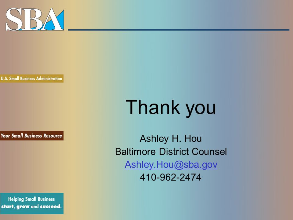 Baltimore District Counsel