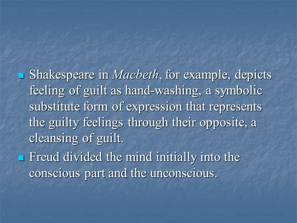"""how does shakespeare portray macbeths guilt Macbeth is a shakespearean tragedy written during the reign of  the desire of  being the king was present in the mind of macbeth, but in a dormant stage   well it depends if you mean guilty as in """"she is consumed by guilt."""