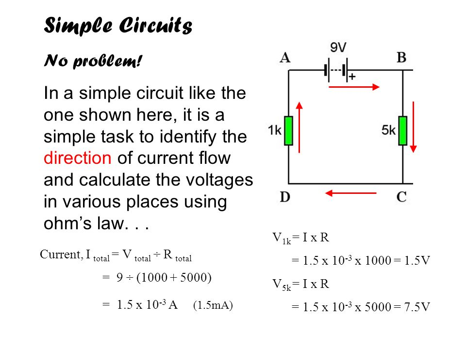 Simple Circuits No problem!
