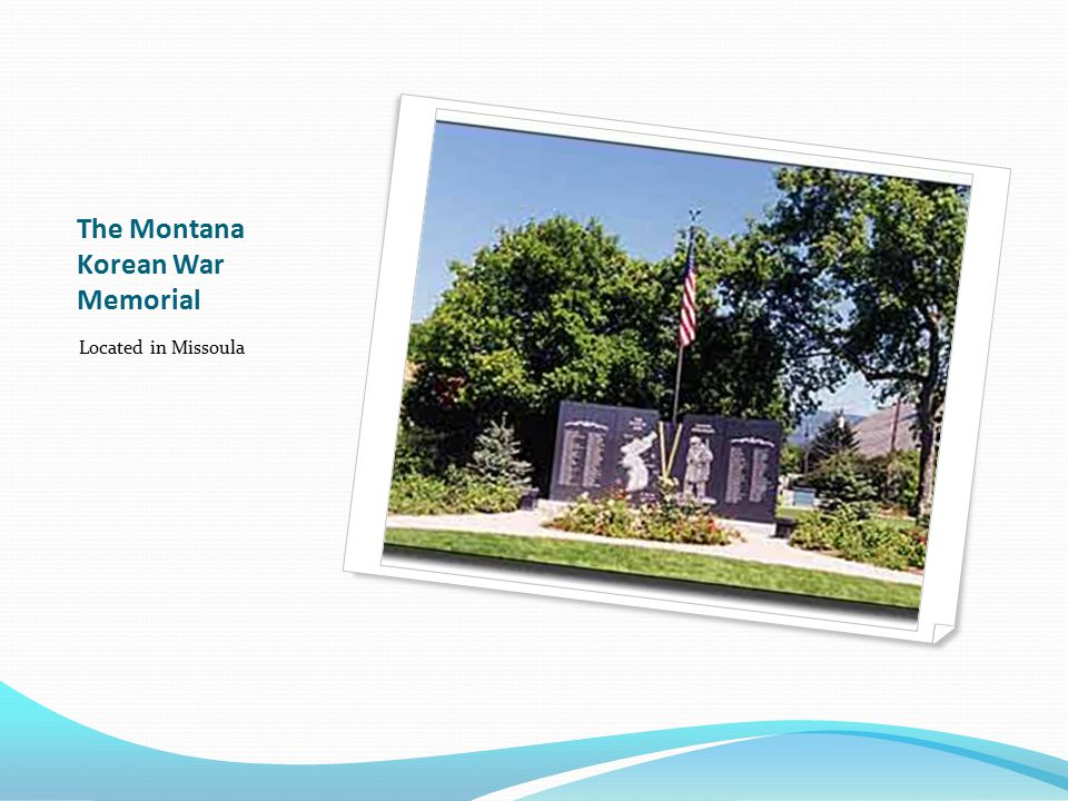 The Montana Korean War Memorial