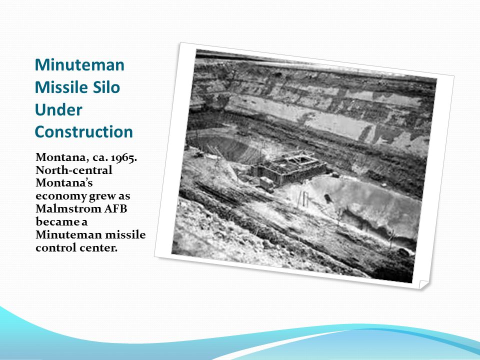 Minuteman Missile Silo Under Construction