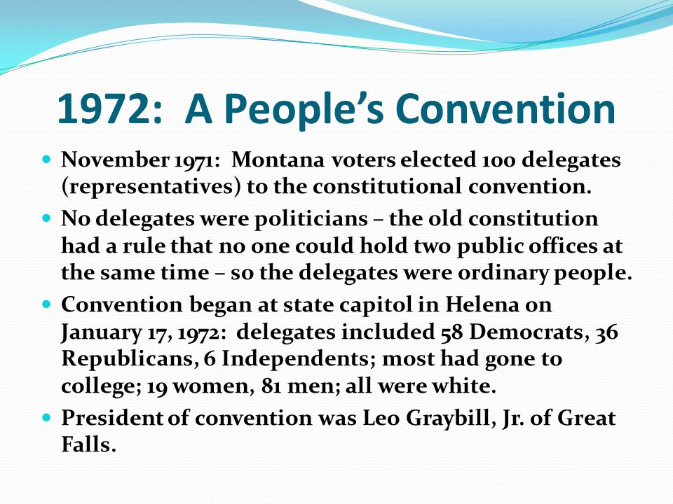 1972: A People's Convention