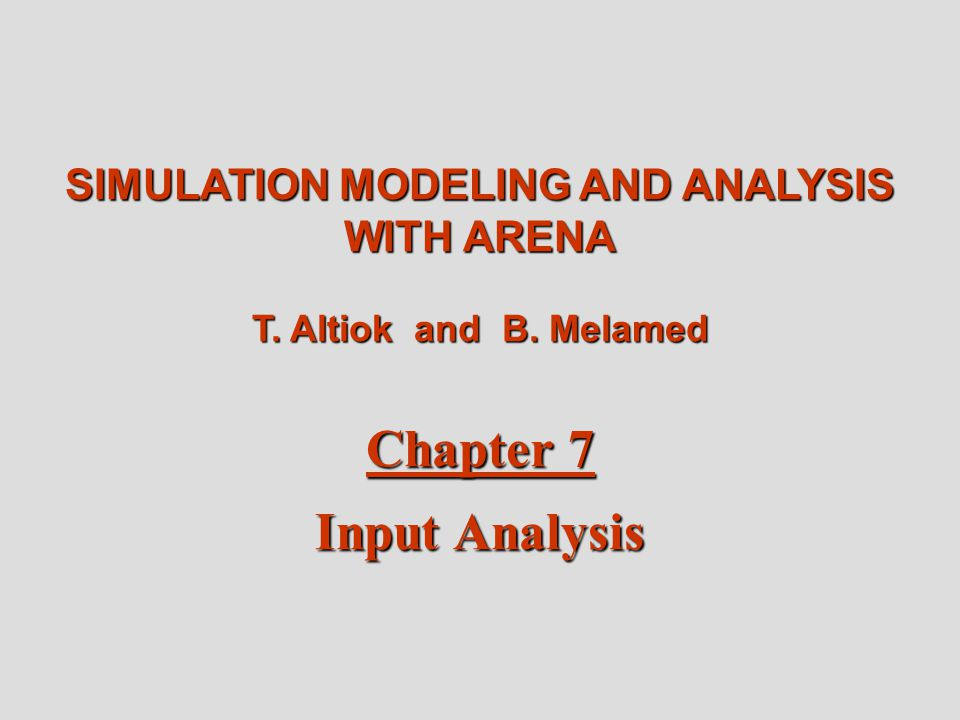 Simulation Modeling And Analysis With Arena Pdf
