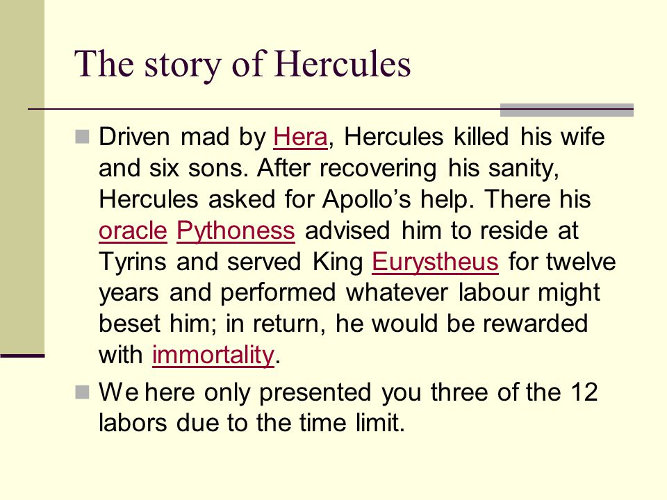 the story of hercules Guide to the myth of heracles (hercules): later adventures and death heracles  (hercules): later adventures and death story summary and analysis.
