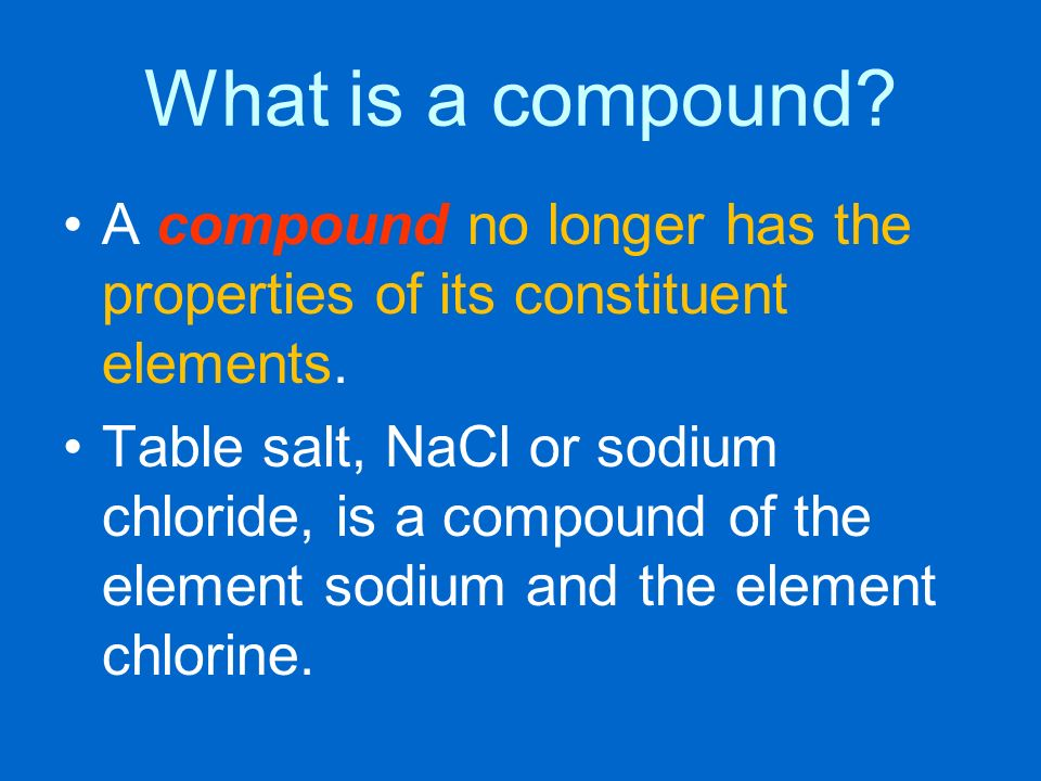 a description of the chemical which makes up sodium chloride Product information sodium chloride  the chemical name is sodium chloride with molecular formula nacl  description the sodium chloride.