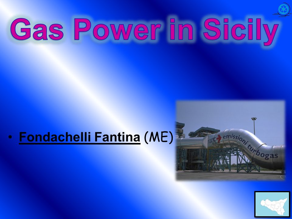 Gas Power in Sicily Fondachelli Fantina (ME)