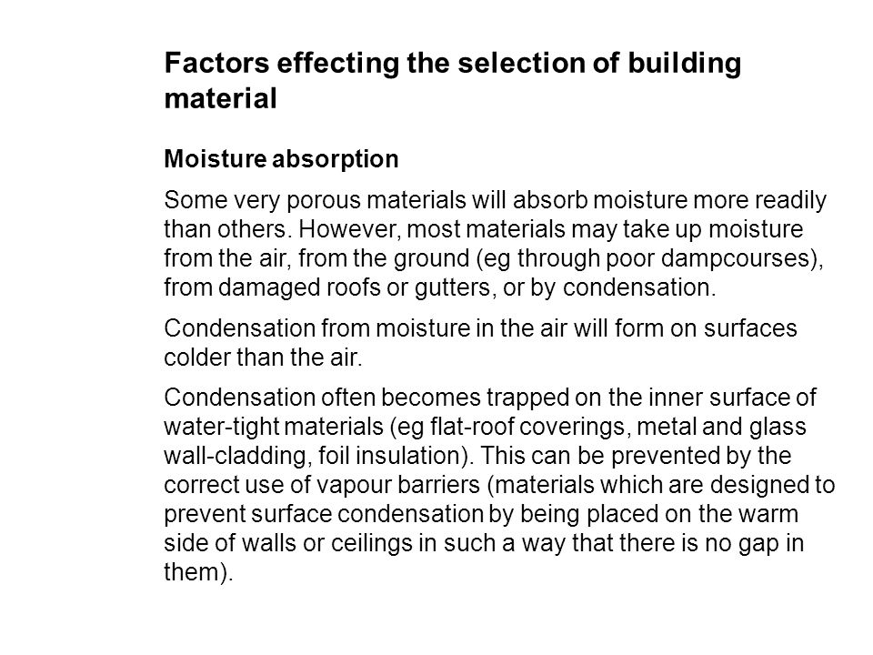Range Of Building Materials Properties Of Concrete - Ppt Download