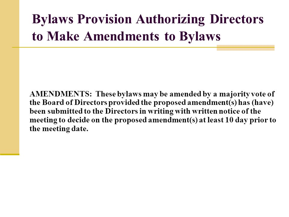 Bylaws Search