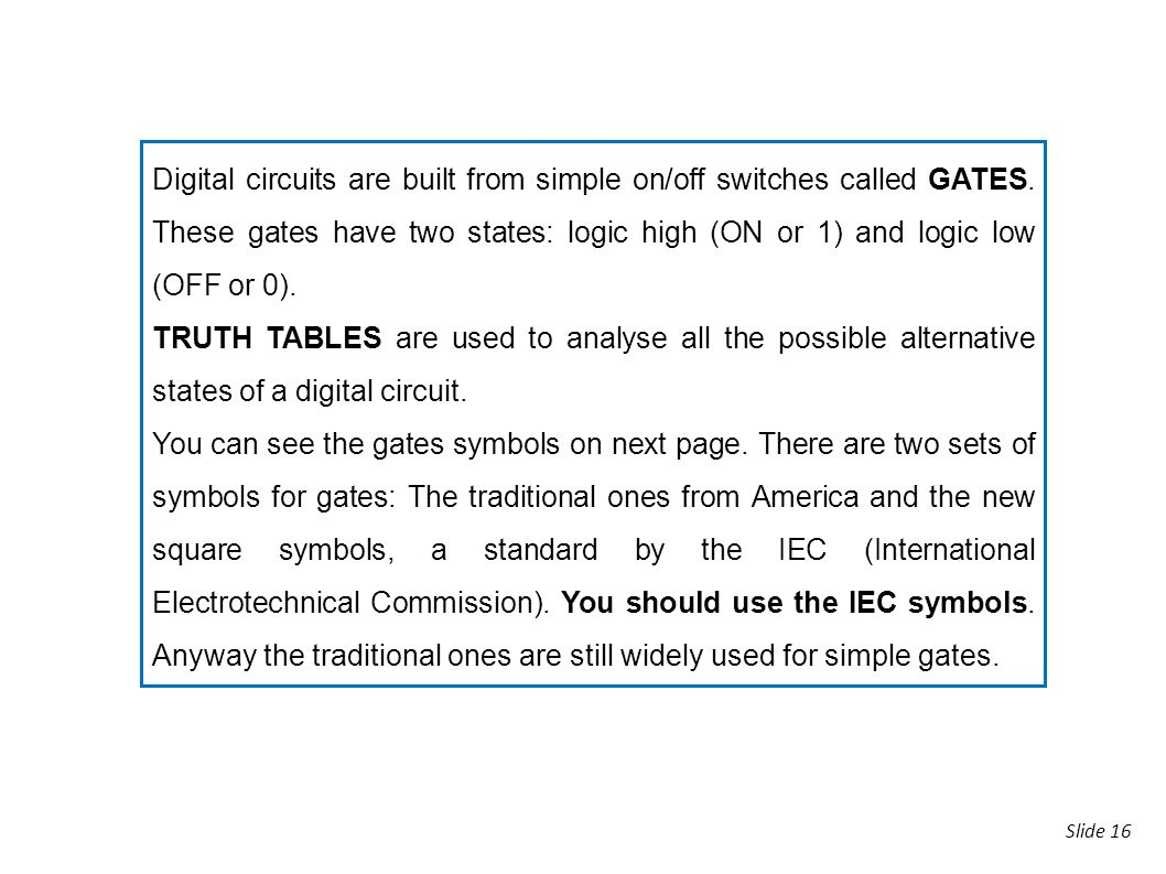 3 digital electronics ppt download digital circuits are built from simple onoff switches called gates buycottarizona