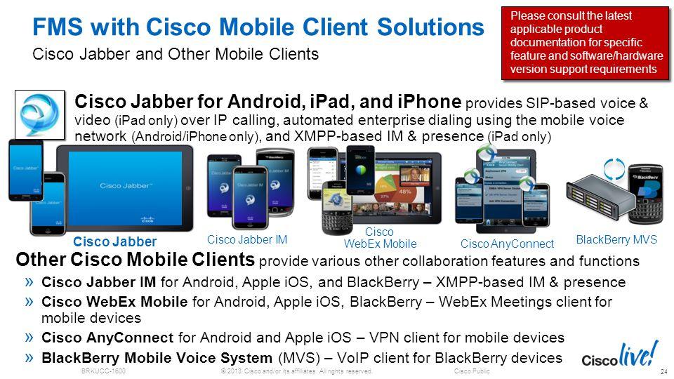 Cisco jabber anyconnect vpn