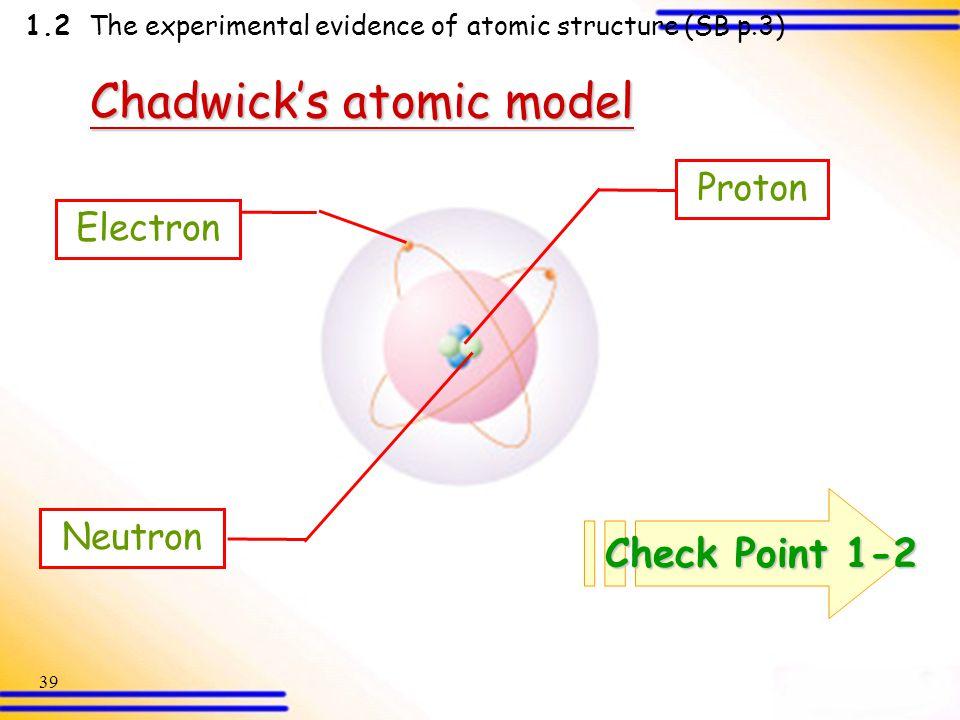 chadwick atomic model