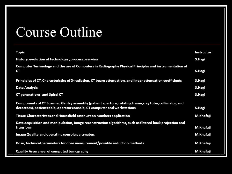 Computed Tomography Data Acquisition : Computed tomography rad ppt video online download