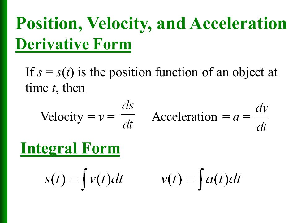 Chapter 6 The Integral Sections 6.1, 6.2, and ppt download