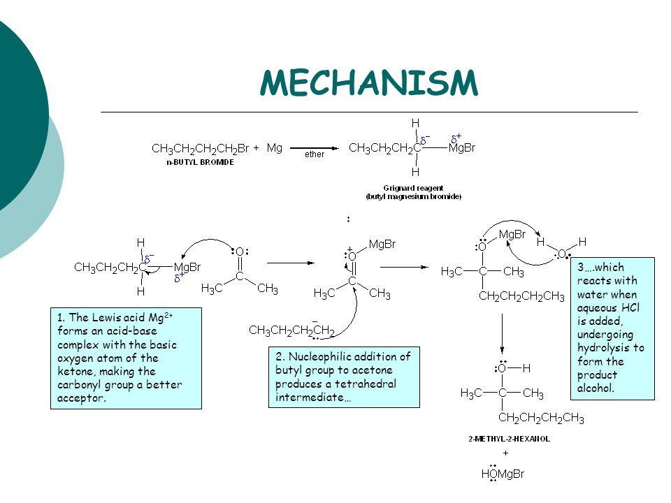 grignard reaktion mechanismus