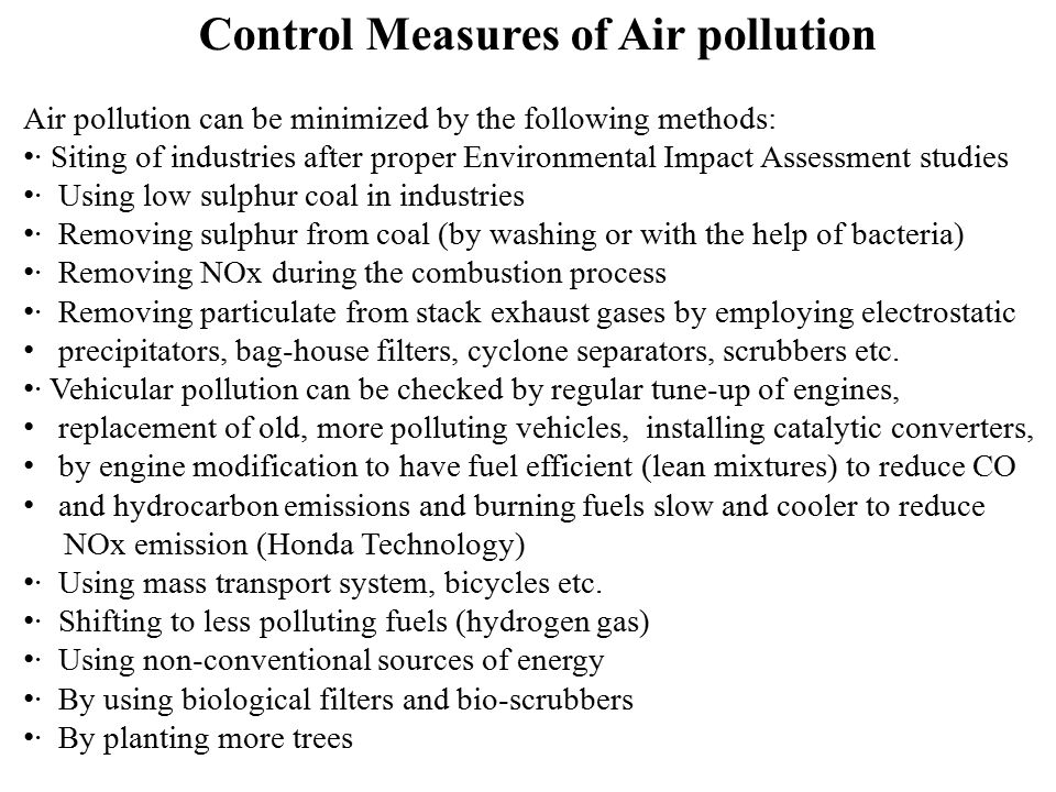 essay on measures to control environmental pollution International journal of environmental engineering and management issn 2231-1319, volume 4, number 5 (2013), pp 445-450 we emphasizes on prominent indian company active in air pollution control measure dewy innovative technology business and r&d.