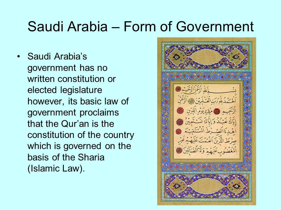 comparing and contrasting about canada and saudi arabia