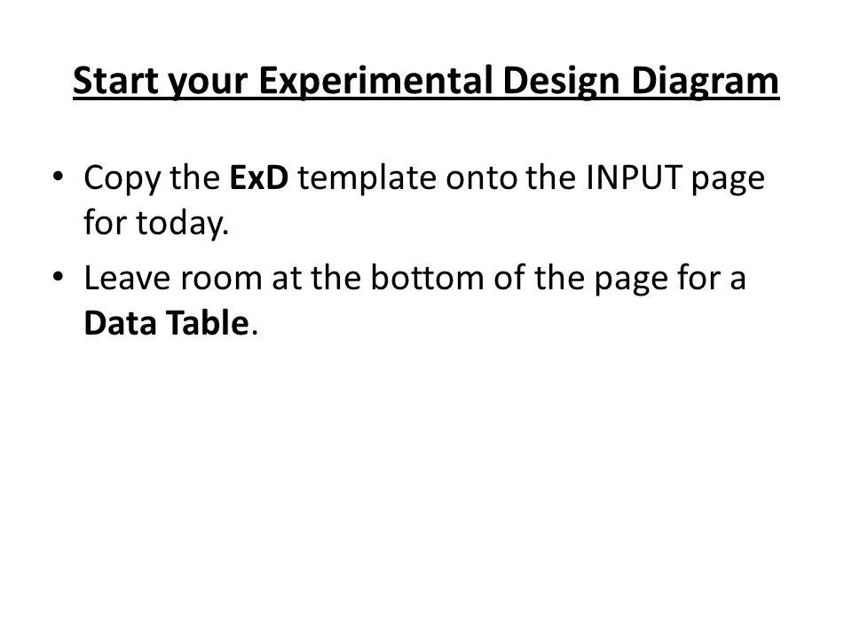 Diagram experimental design diagram template : Penny Boat Contest. - ppt download