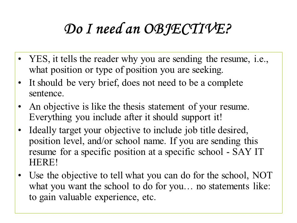 how to write a resume tamuk