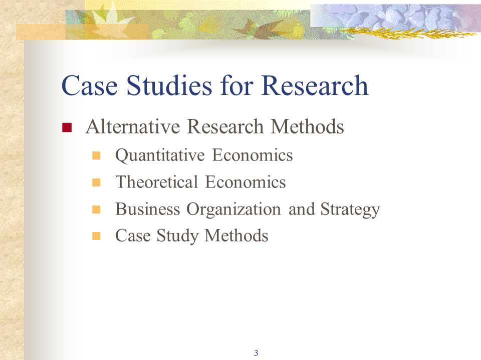 case study method of teaching economics Economics a pafu# rescmted case study methods are frequc~tly employed across a wide range of social science disciplines usei-ul for teaching purposes.