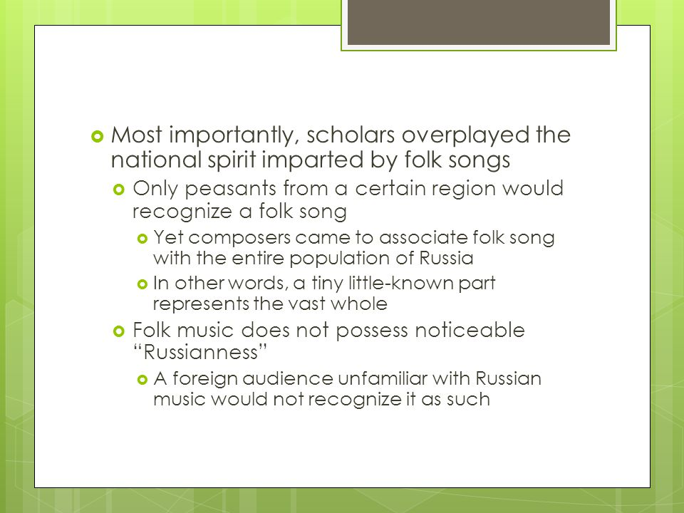 Music Of Russia Usad Ppt Download