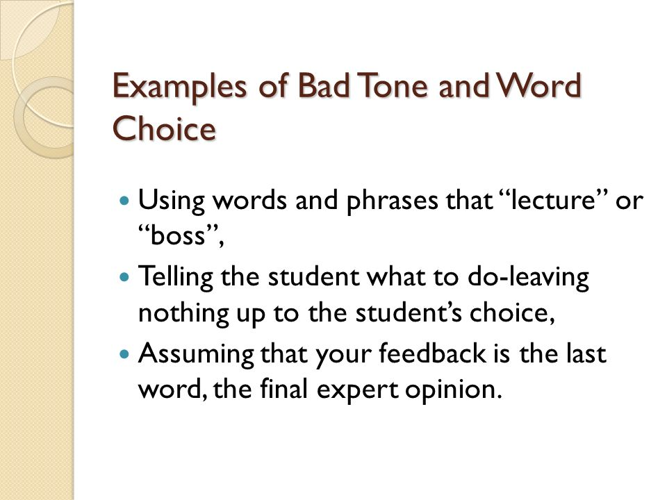 How To Give Effective Written Feedback Ppt Video Online