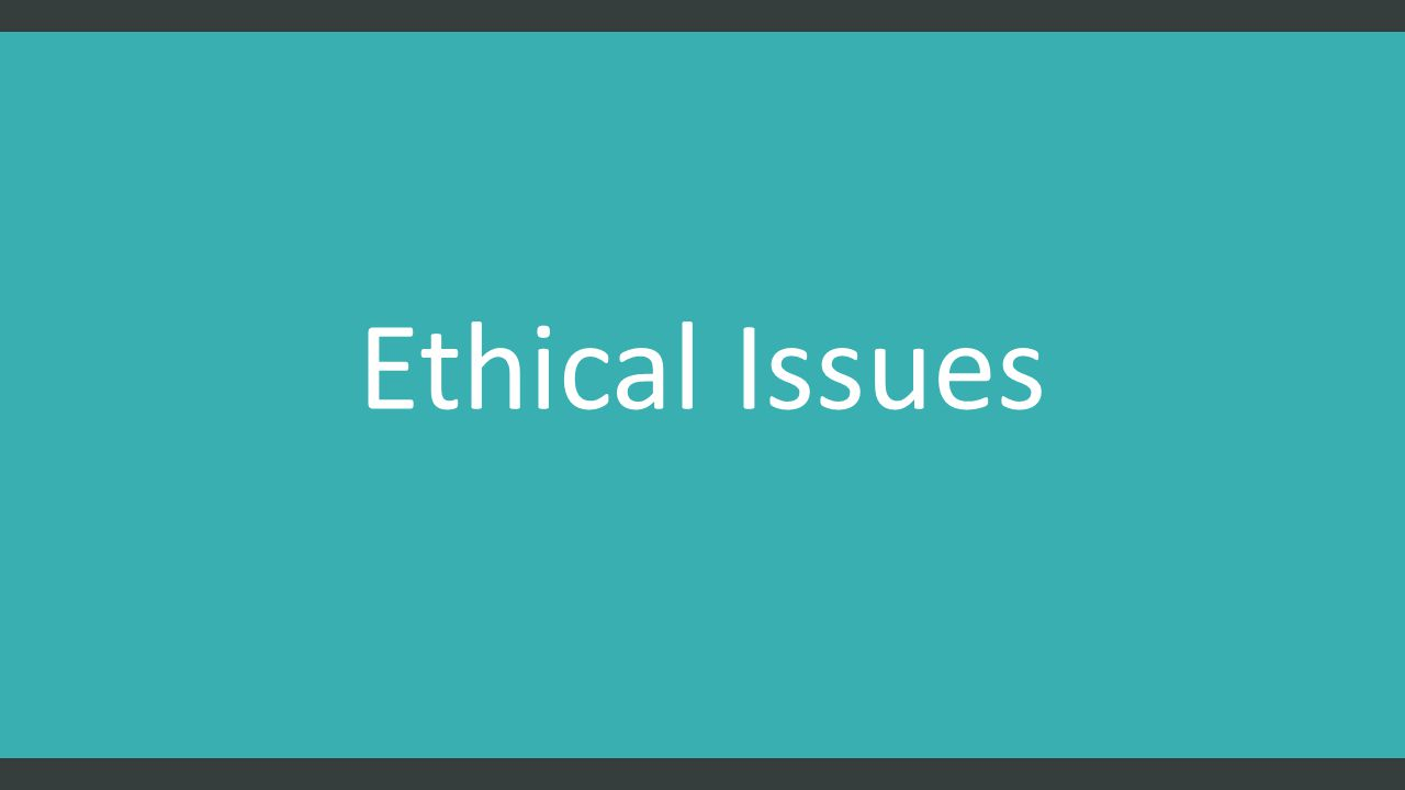 list of ethical issues This article is also available as a pdf downoad by jeff relkin in 10 ethical issues raised by it capabilities, we examined ethical issues raised by it capabilities, issues that all of us as technology professionals need to consider as we go about our duties this time, we take a look at ethical.