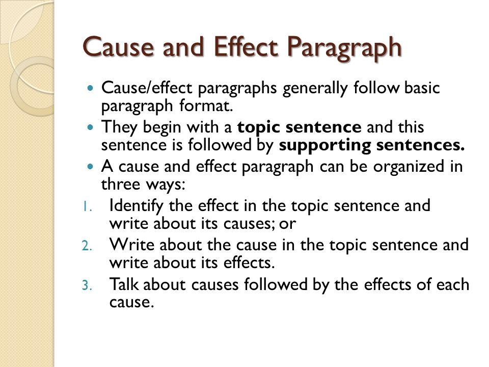 effects of smoking paragraph
