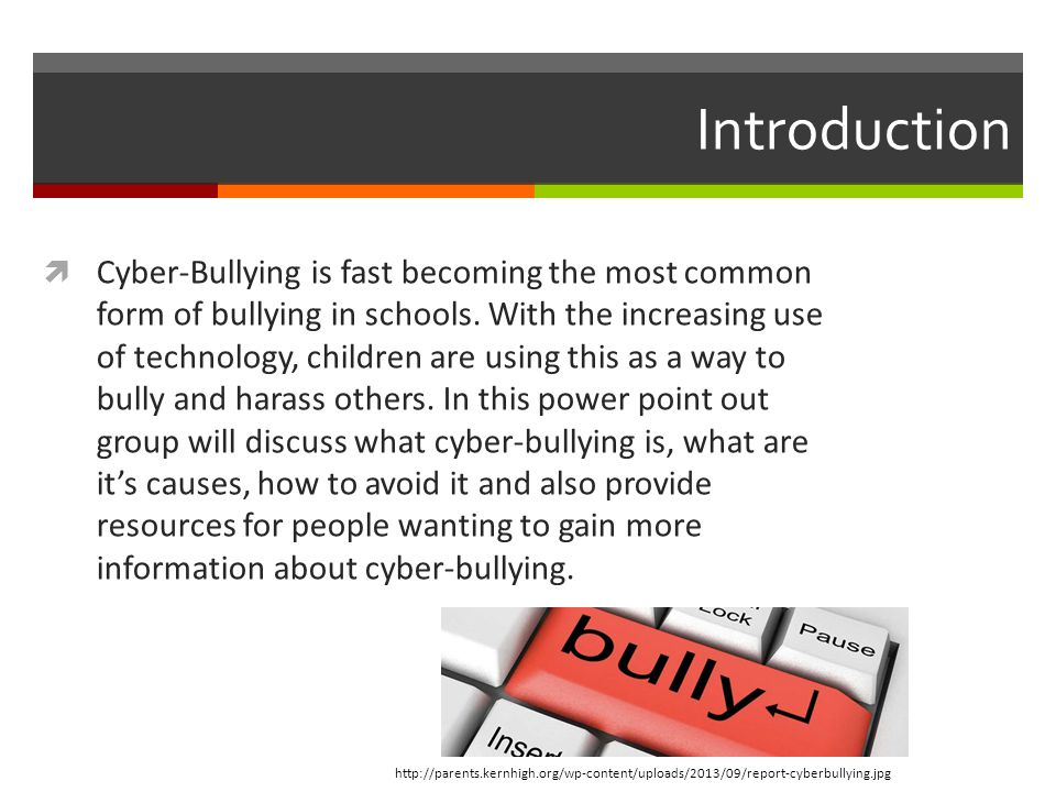 Cyber-Bullying - ppt download