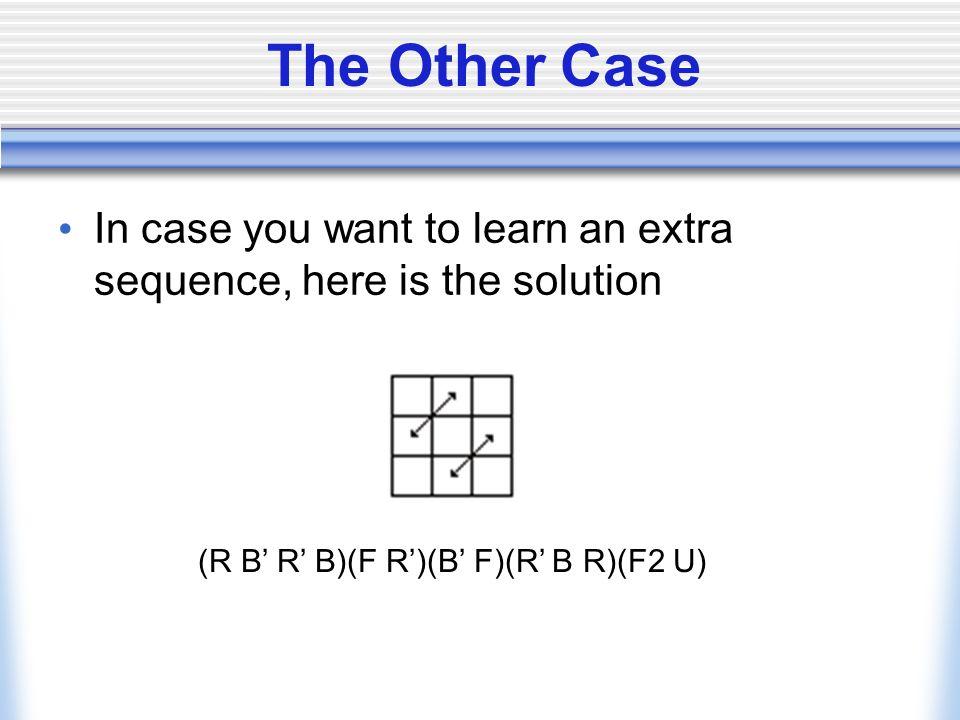(R B' R' B)(F R')(B' F)(R' B R)(F2 U)