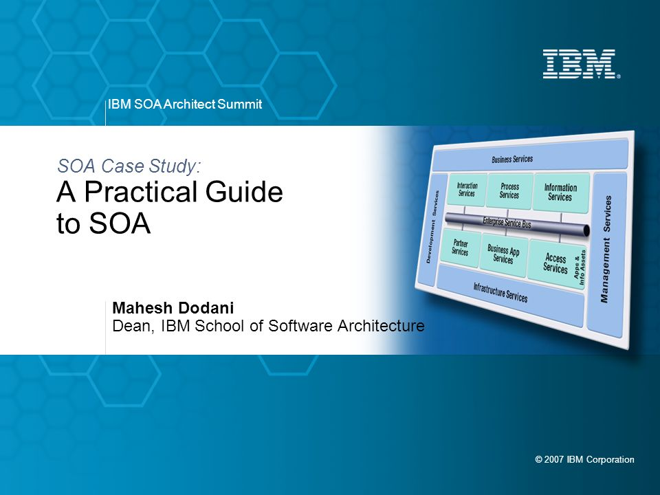 service oriented architecture essay Esb using message broker - how to implement soa ibm announced on january 26, 2005, a new service to help companies build capabilities that support business goals, while freeing up currently overstretched it budgets to focus on growth opportunities the new service oriented modeling and architecture.