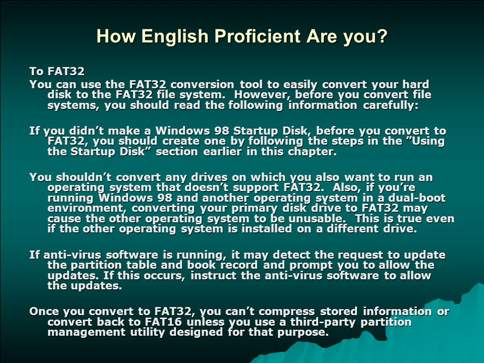 how english proficient are you - Software Proficiency Meaning