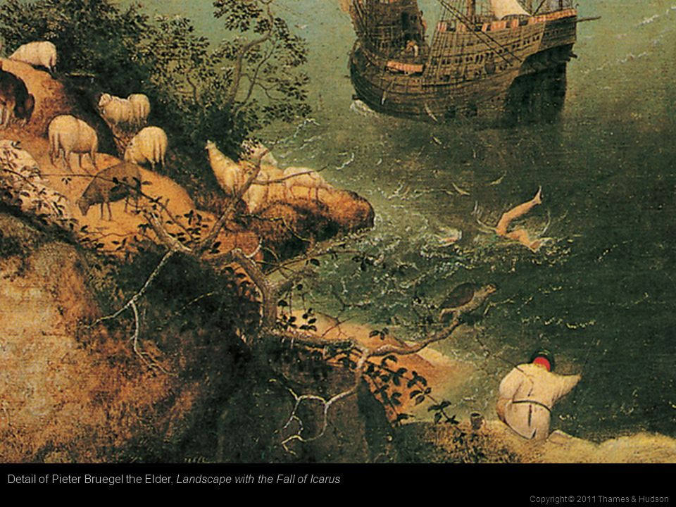 landscape with the fall of icarus essay writer