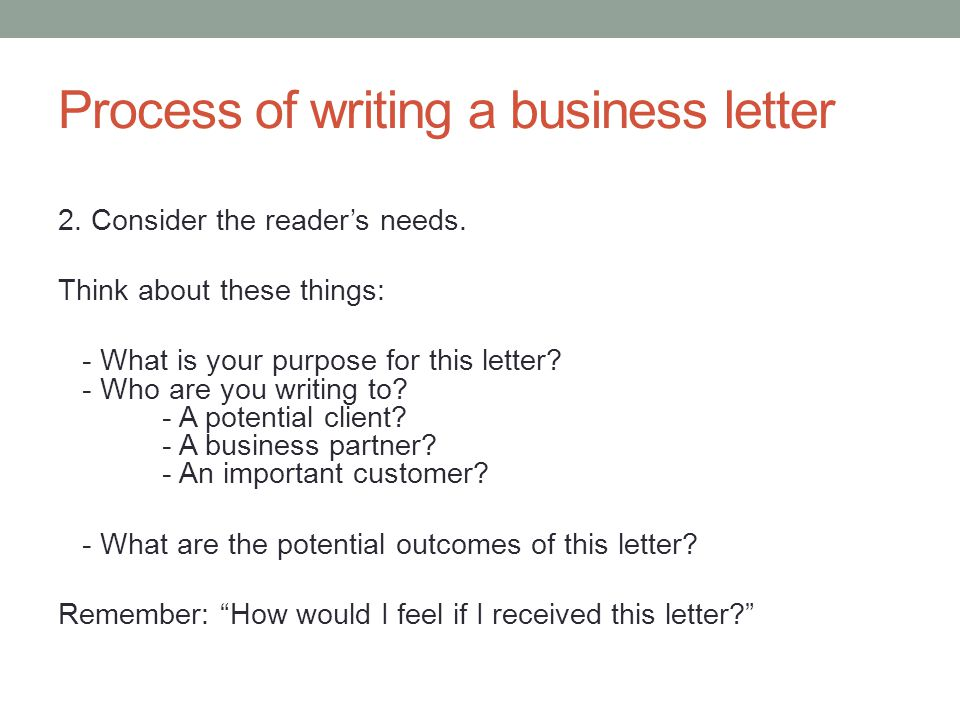 Writing business procedures
