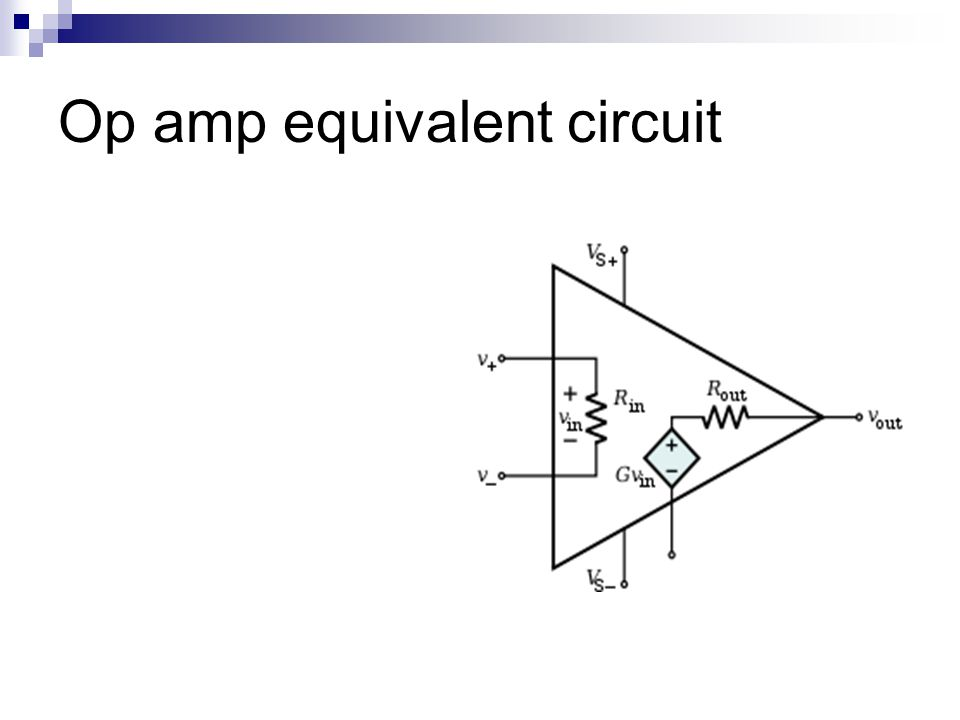 ldic course contents unit 1 - operational amplifier