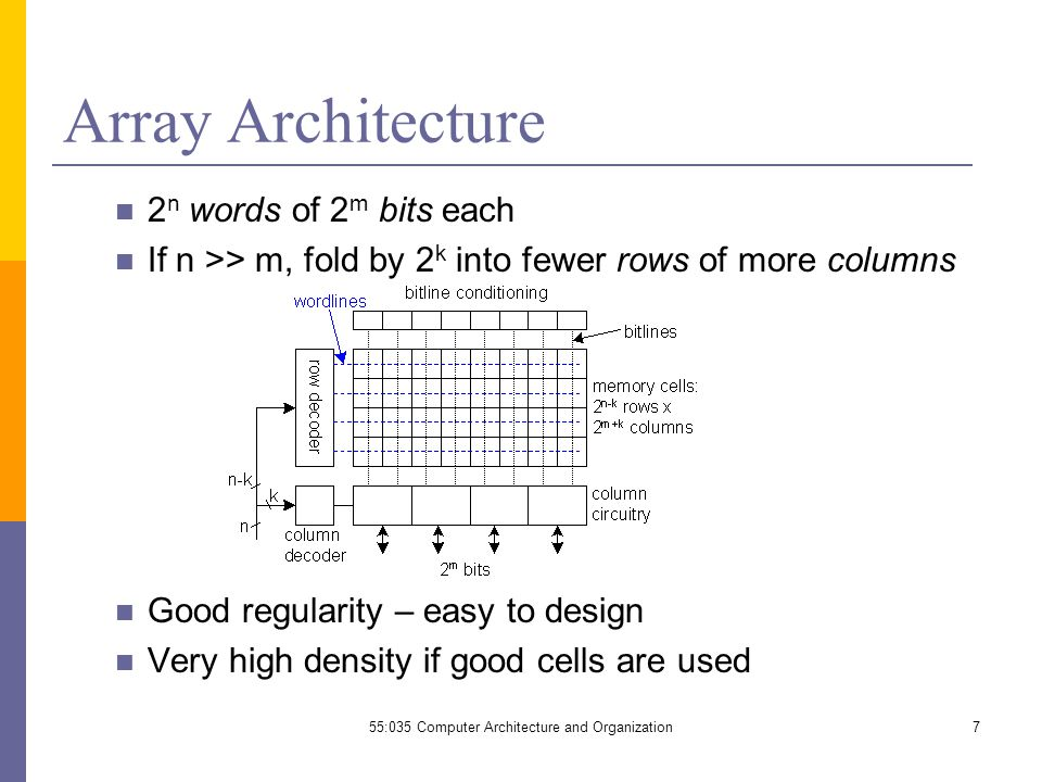 55:035 computer architecture and organization - ppt video online