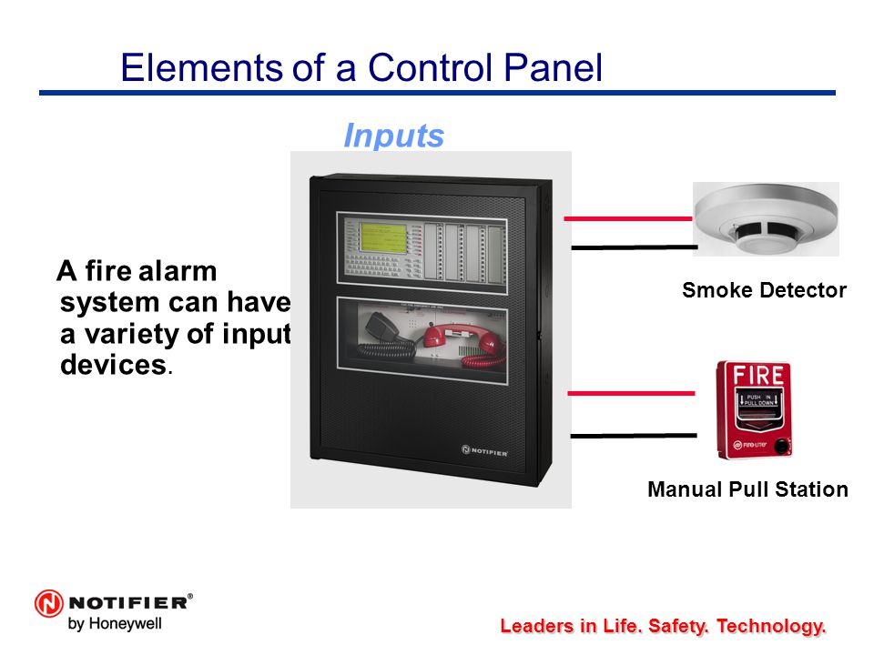 fire alarm control system pdf