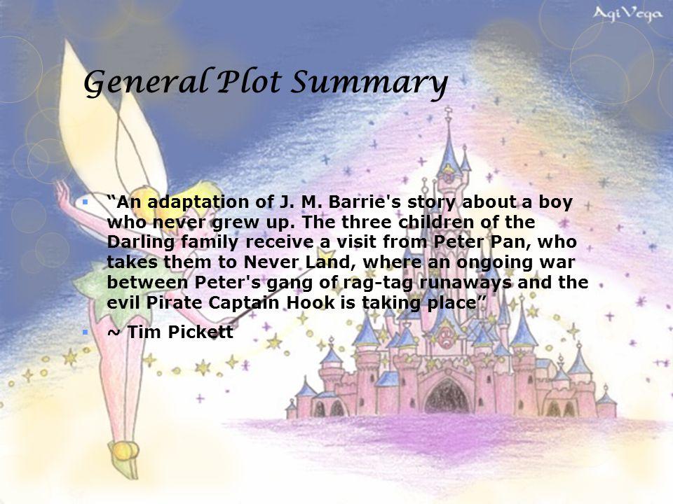 peter pan story book summary
