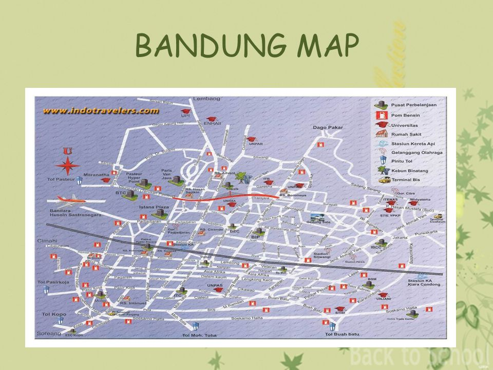 My city bandung ppt video online download 4 bandung map sciox Gallery