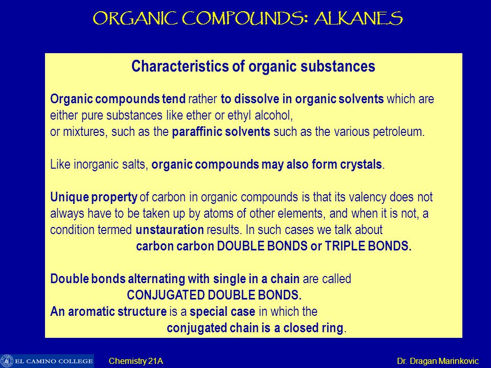 Organic Compounds Alkanes Ppt Download