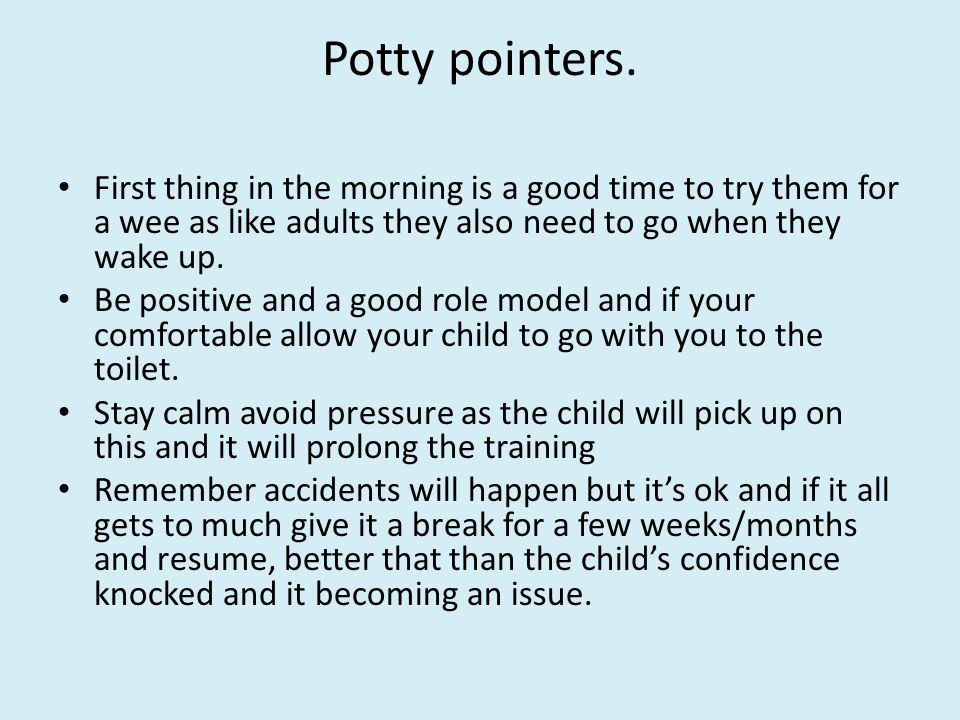 Toilet Training Your Toddler Ppt Video Online Download