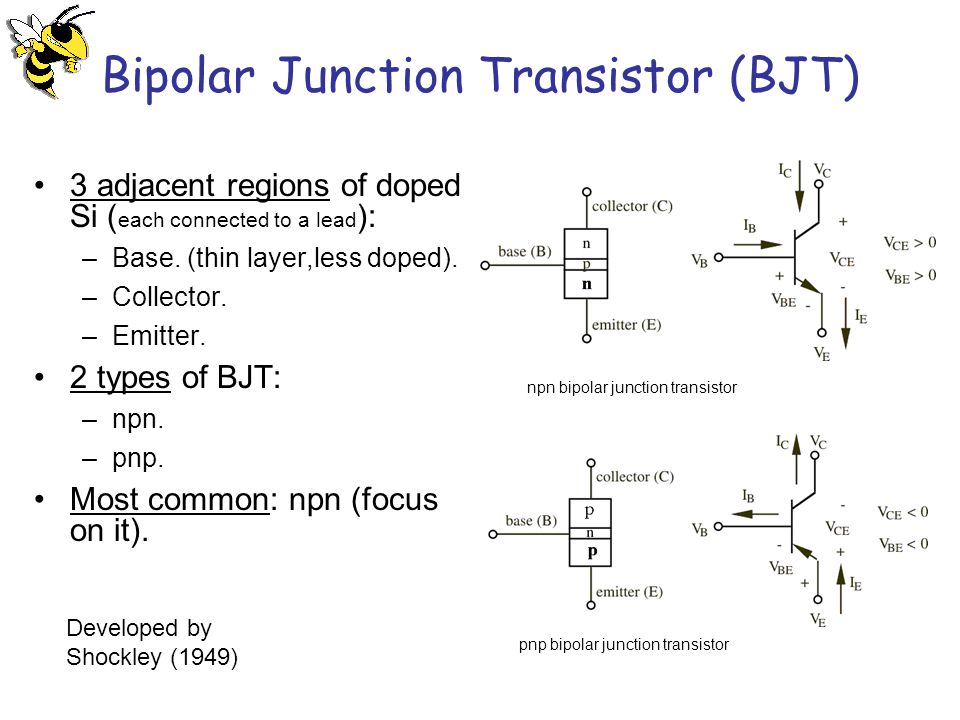 the application of bipolar junction transistor bjt Biasing of the bipolar junction transistor (bjt) is the process of applying external voltages to it in order to use the bjt for any application like amplification.