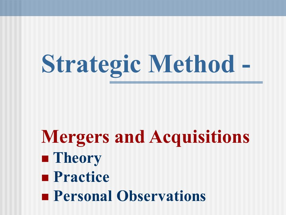 mergers and acquisitions law theory and practice