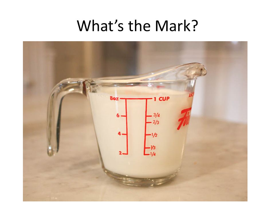 What's the Mark