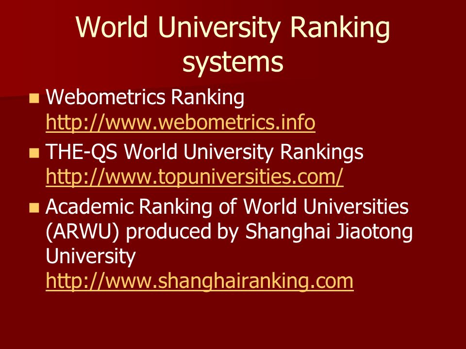 online university rankings New 2016 top 500 world university rankings conducted by cwcu of shanghai jiao tong university (academic ranking of world universities.