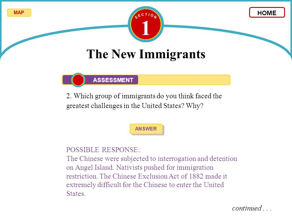 nativists response to immigration The nativist's response to immigration immigrants have been seeking salvation or just new opportunities in america for hundreds of years even americans.