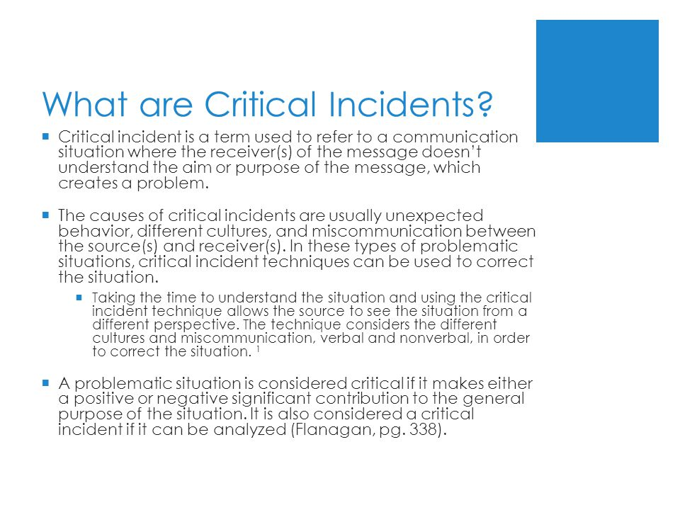 critical incidents and our behaviours It details the arrangements that apply to critical incident management in the  context  self-harm, attempted serious assault siege violent behaviour  terrorism.