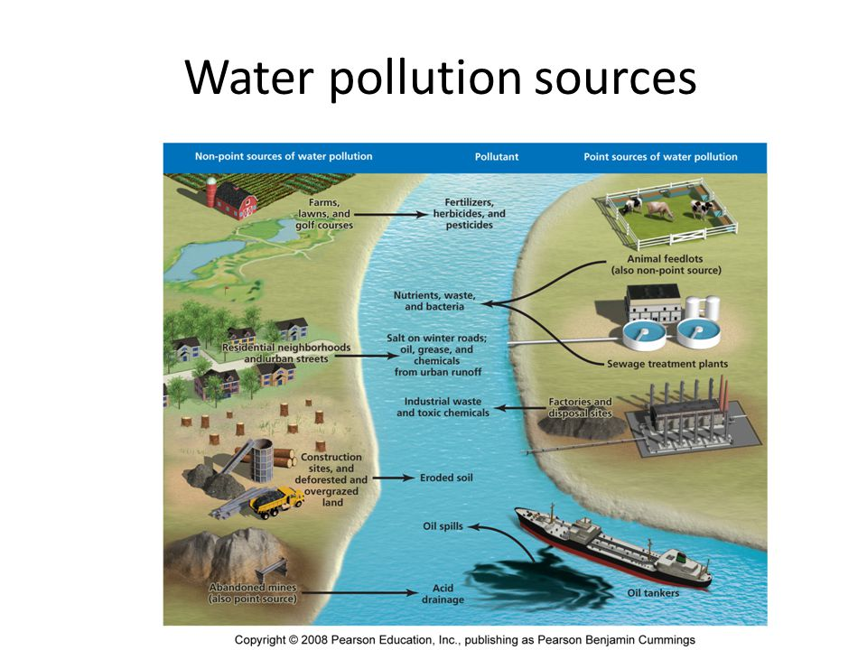 the different types of water pollutants and its dangers Pollution occurs in different forms air, water, soil, radioactive, noise, heat/ thermal  and light  let us discuss the different types of pollutions, their causes and  effects on  air pollution is the most prominent and dangerous form of pollution.