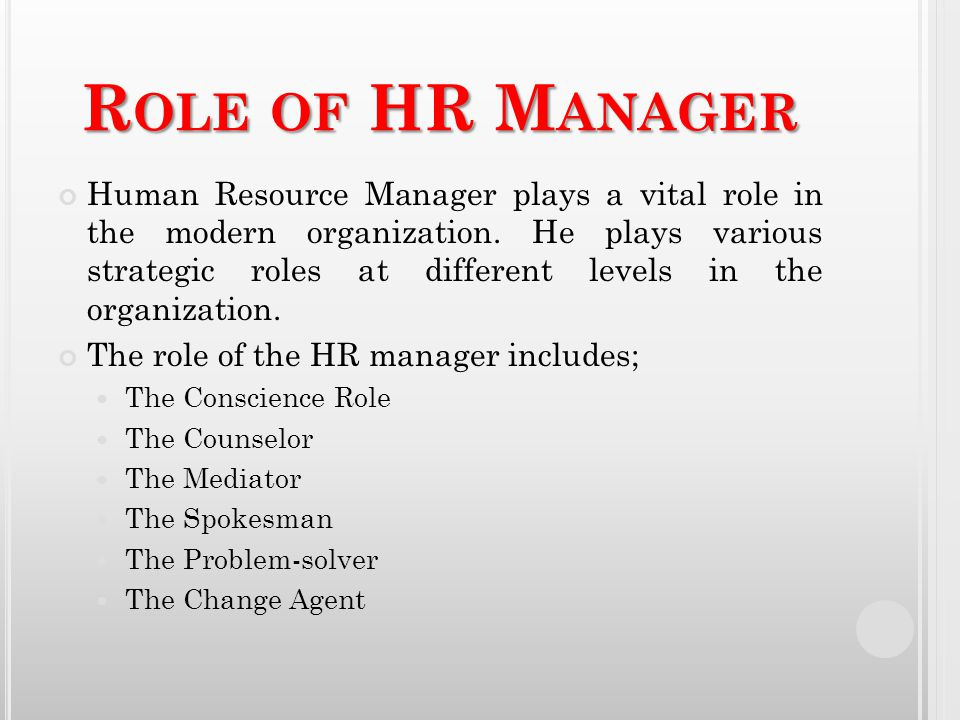 all manager are human resource managers All managers are hr managers yes, it managers, finance managers, operation managers, even the ceo, in fact more so, the ceo, all of you who carry the title and responsibilities are hr managers  to think that hr management is the sole province of the title holder is the cause of many human resource management dilemma  i believe that the.
